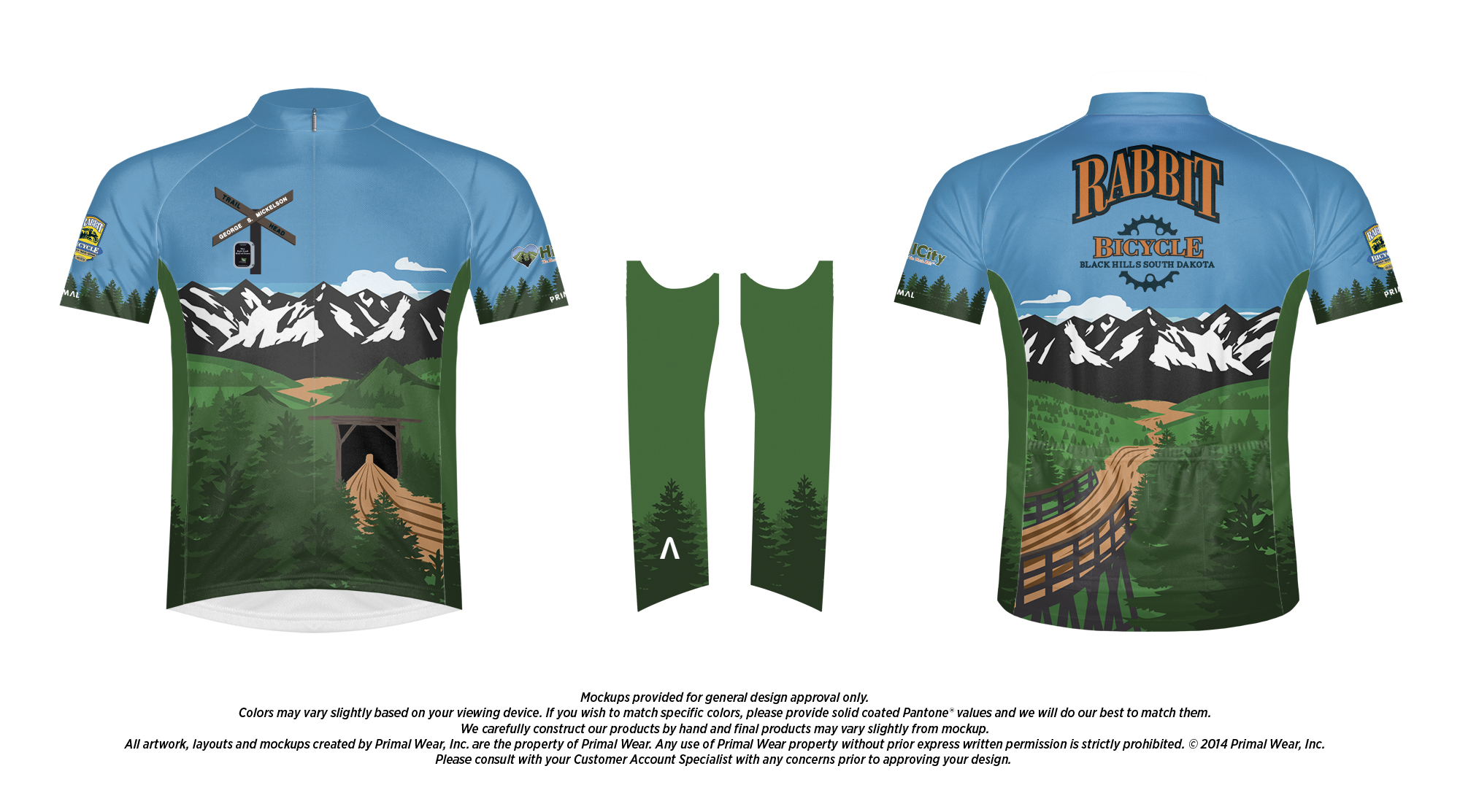 Official Mickelson Trail Bike Jersey