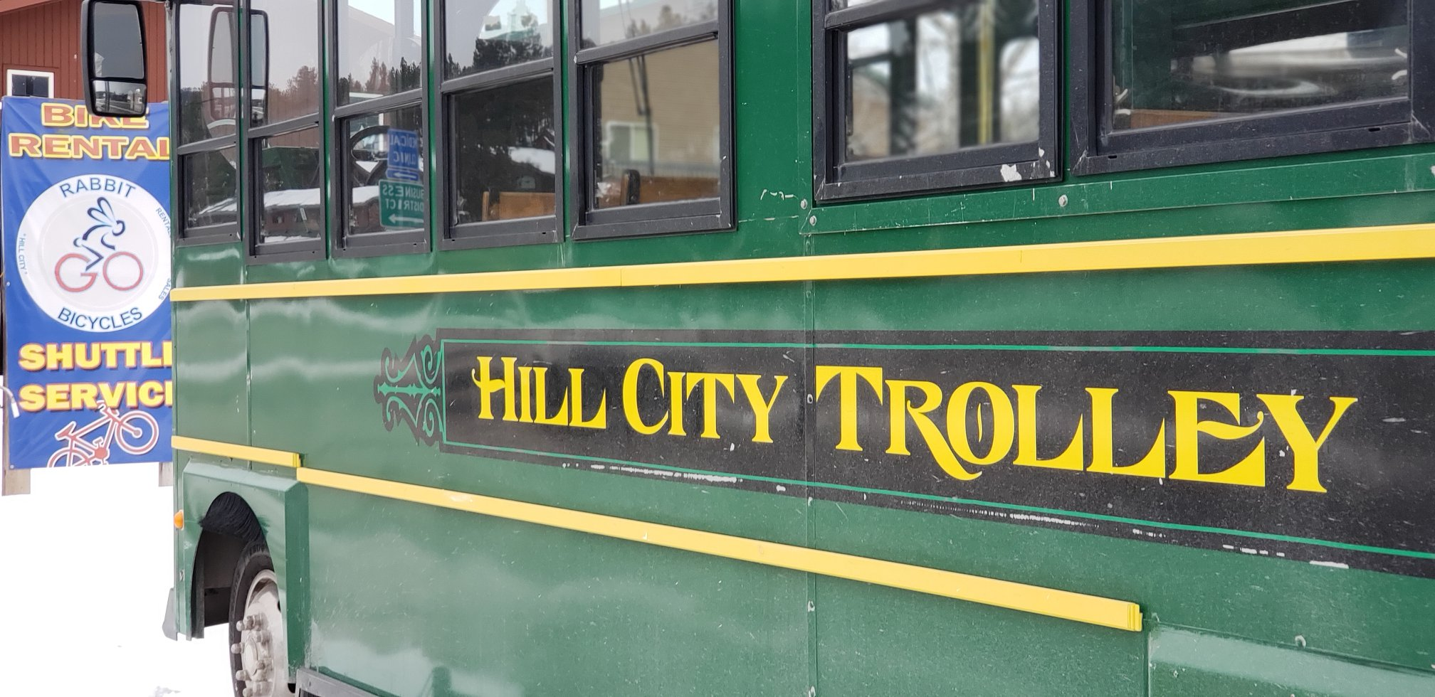 The new Hill City Trolley!