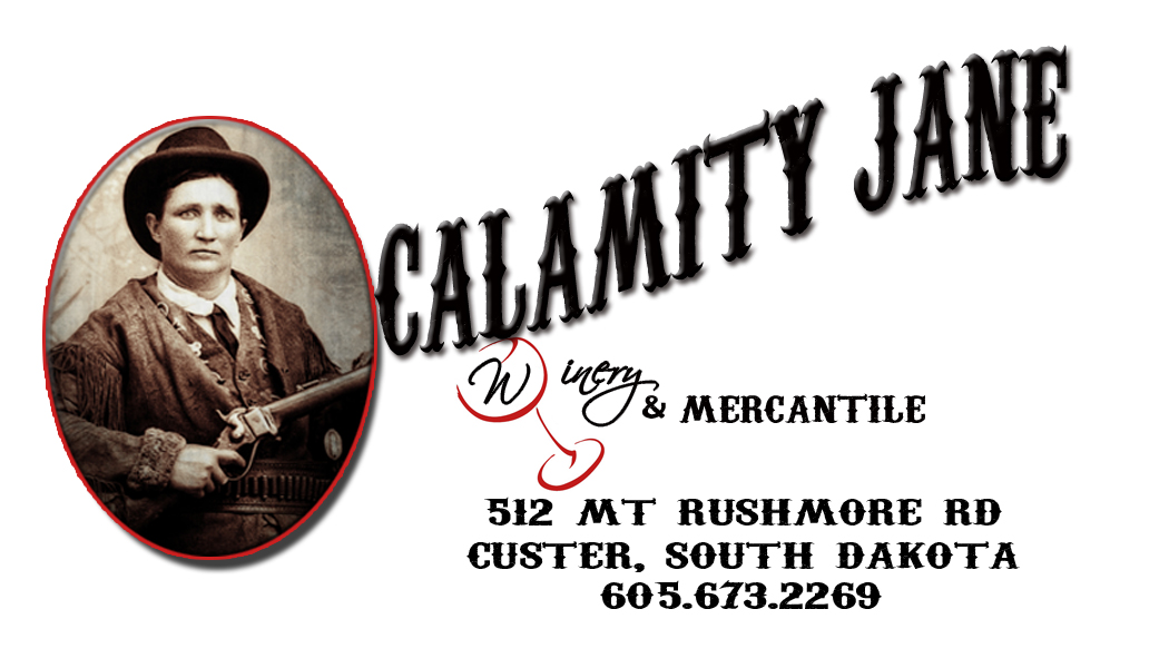 The Calamity Jane Winery & Mercantile logo